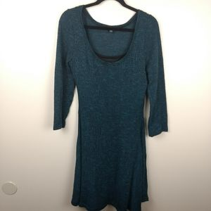 American Eagle Teal Blue A-line Swing Dress